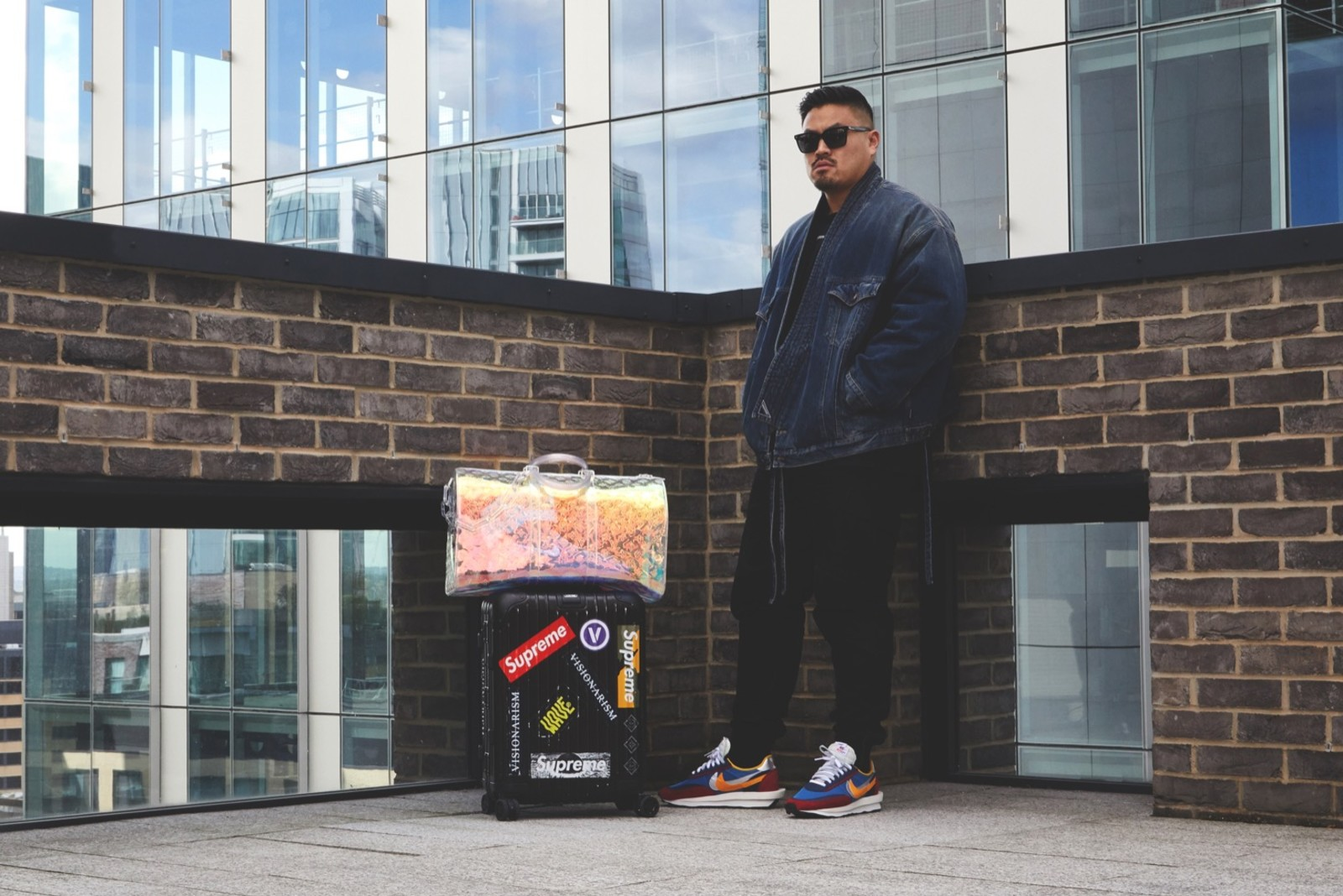 quality design ab334 ea50e END. Features | Flight Case Sneakers: Thierry Tek